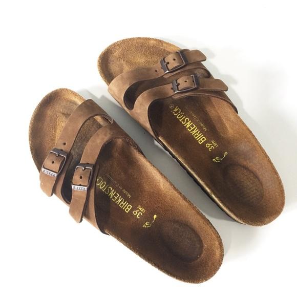 11679193133 Birkenstock Shoes - Birkenstock Ibiza cocoa leather sandals Sz 39